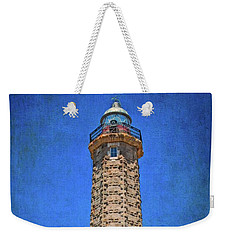 Weekender Tote Bag featuring the photograph Punto Doncela Lighthouse by Mary Machare