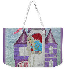 'punzel -- Portrait Of Storybook Character Rapunzel Weekender Tote Bag