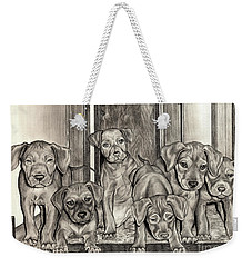 Puppies  Weekender Tote Bag