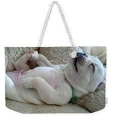 Puppy Dog Dreams Weekender Tote Bag