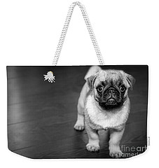 Puppy - Monochrome 2 Weekender Tote Bag