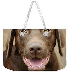 Puppy Power Weekender Tote Bag by Kathy M Krause