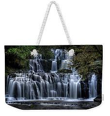 Purakaunui Falls Weekender Tote Bag by Brad Grove