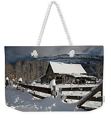 Purcell Mtn Barn Weekender Tote Bag
