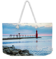 Weekender Tote Bag featuring the photograph Pure Algoma by Bill Pevlor
