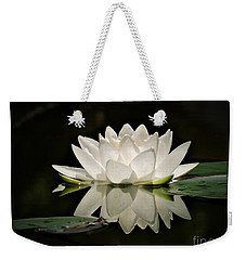Pure And White Weekender Tote Bag