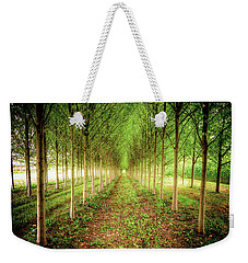Weekender Tote Bag featuring the photograph Craven Farms by Spencer McDonald