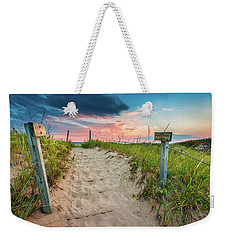 Weekender Tote Bag featuring the photograph Pure Michigan Sunset by Sebastian Musial