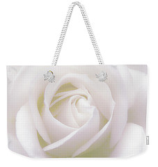 Pure White Weekender Tote Bag