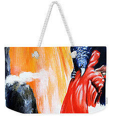 Purgatorio Weekender Tote Bag by Victor Minca