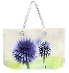 Purple Allium 2 Weekender Tote Bag by Jimmy Ostgard
