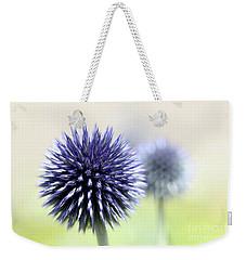 Purple Allium 3 Weekender Tote Bag by Jimmy Ostgard