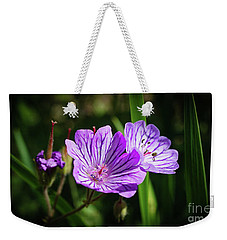 Purple Attraction Weekender Tote Bag