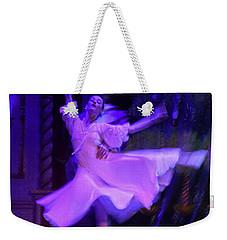 Purple Ballet Dancer Weekender Tote Bag