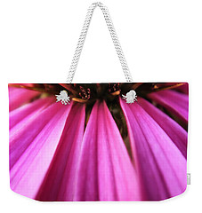 Weekender Tote Bag featuring the photograph Purple Beauty by Eduard Moldoveanu