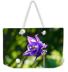 Purple Beauty  Weekender Tote Bag by Gabriella Weninger - David