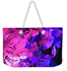 Purple Behind Pink Weekender Tote Bag