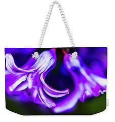 Purple Bells Weekender Tote Bag