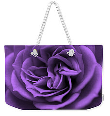 Purple Bliss Weekender Tote Bag