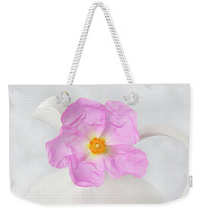 Purple Bloom Weekender Tote Bag