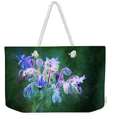 Purple Borage Weekender Tote Bag