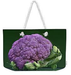 Purple Cauliflower Weekender Tote Bag by Nikolyn McDonald