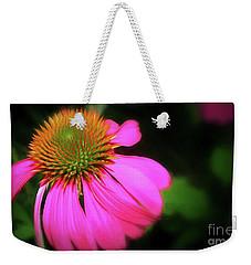 Purple Coneflower Weekender Tote Bag