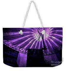 Purple Cosmic Berlin Weekender Tote Bag
