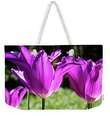Purple Cups Weekender Tote Bag
