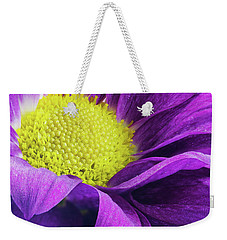 Purple Daisy In The Garden Weekender Tote Bag