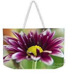 Purple Daisy Weekender Tote Bag