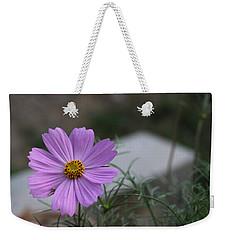 Purple Cosmos Weekender Tote Bag by Khalid Saeed