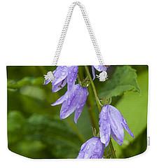 Purple Dew Drops Weekender Tote Bag
