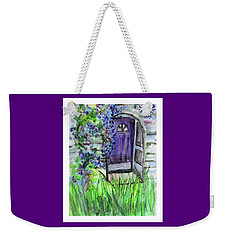 Purple Doorway Weekender Tote Bag