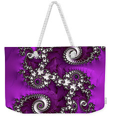 Purple Dragon Weekender Tote Bag