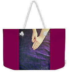 Purple Dress Weekender Tote Bag