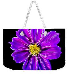 Purple Electric Weekender Tote Bag