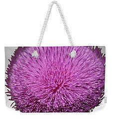 Purple Elegance Weekender Tote Bag
