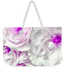 Purple Essence Weekender Tote Bag