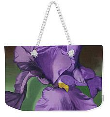 Purple Fantasy Weekender Tote Bag
