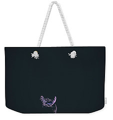 Purple Feather1 Weekender Tote Bag by Timothy Latta