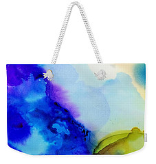 Purple Flow Weekender Tote Bag