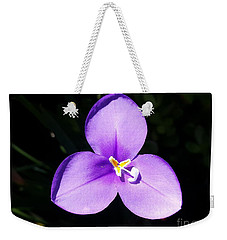 Purple Flower On The Stage Weekender Tote Bag