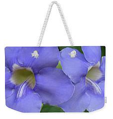 Purple Flower Picture Perfect Weekender Tote Bag