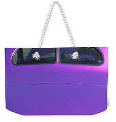 Purple Forty Weekender Tote Bag