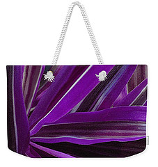 Purple Fronds Weekender Tote Bag