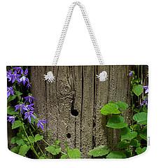 Purple Garland Weekender Tote Bag