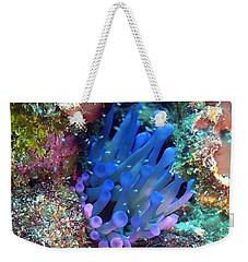 Purple Giant Sea Anemone Weekender Tote Bag