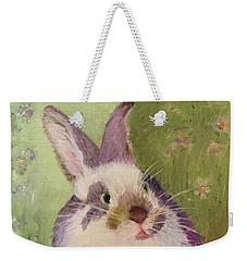 Purple Hare Weekender Tote Bag