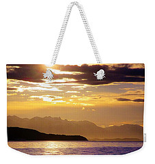 Orchid Sky Weekender Tote Bag